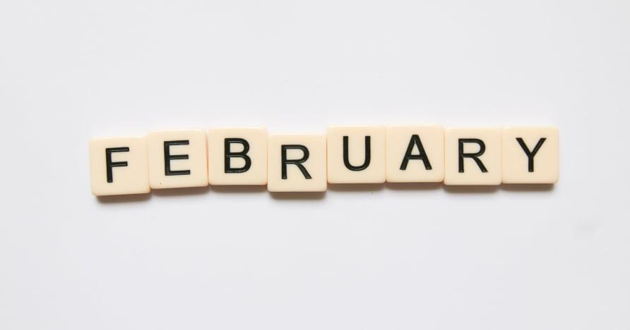 A Microgaming megdöbbentően 20 új címet jelent meg februárban