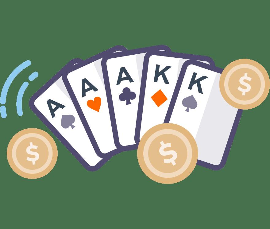 Játsszon Póker Online - a 65 legjobban fizető Mobil Kaszinó 2021